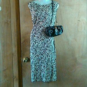 Diane von furstenburg dress& matching purse